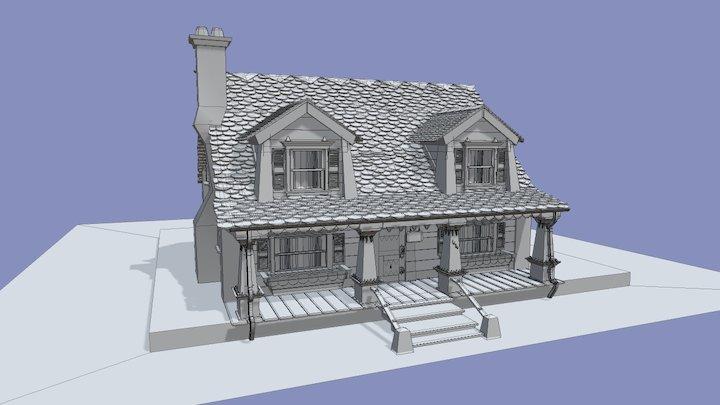 Oozma Kappa's House Outside 3D Model