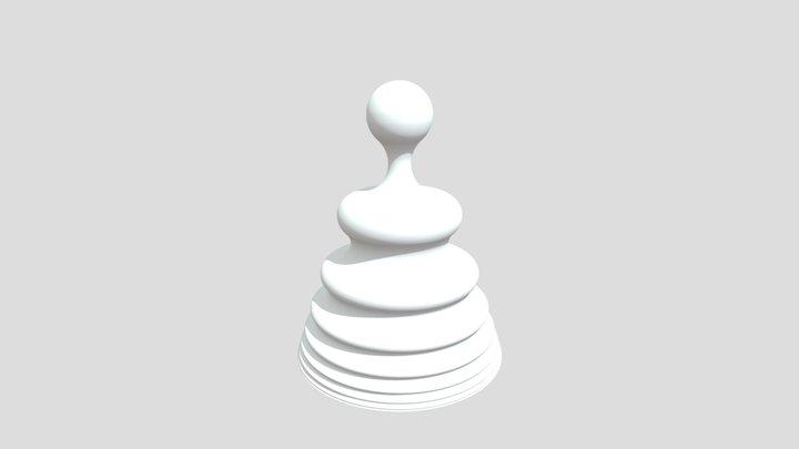 Meditation 137.5 Temple 3D Model