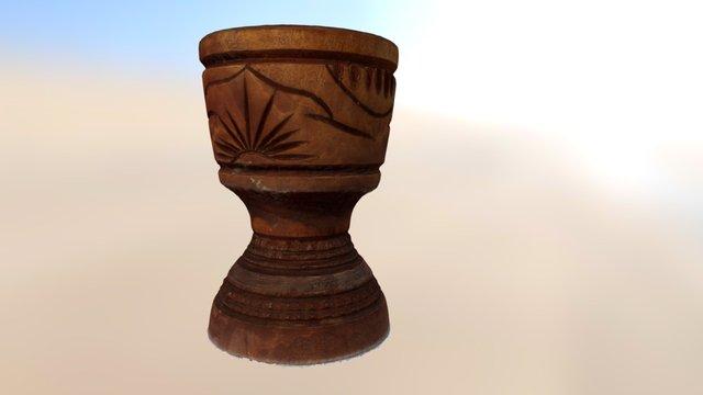 Copo de Madeira (Wooden Mug) 3D Model