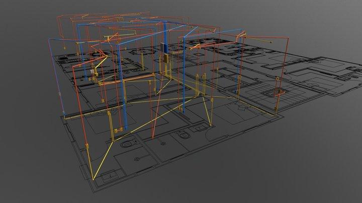Projeto Exemplo 3D Model