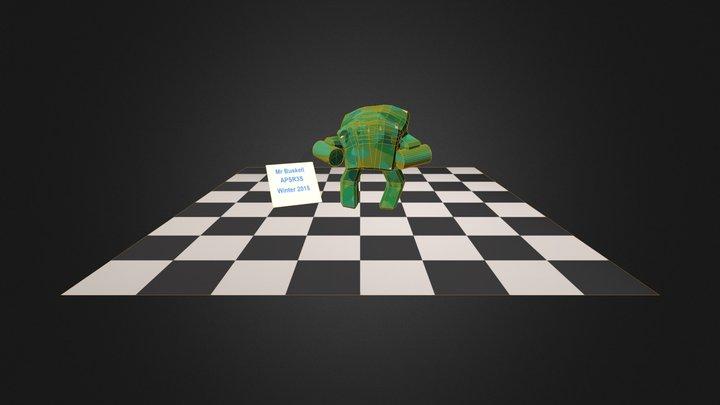 Mech Rigged from MoCap Data 3D Model