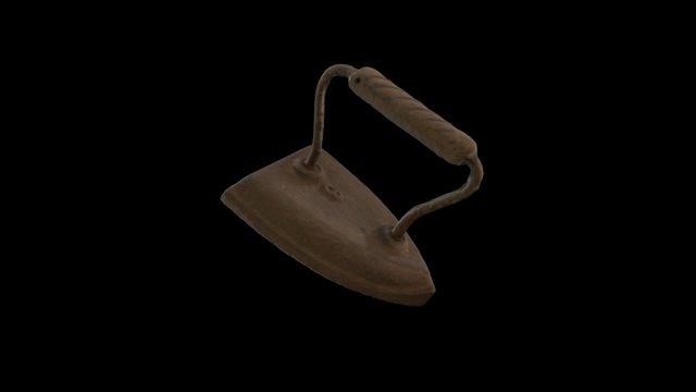 Flat Iron (Sad Iron) 3D Model
