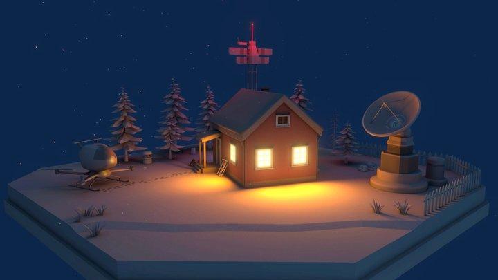 Antenna house 3D Model