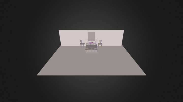 Cozy_bedroom 3D Model