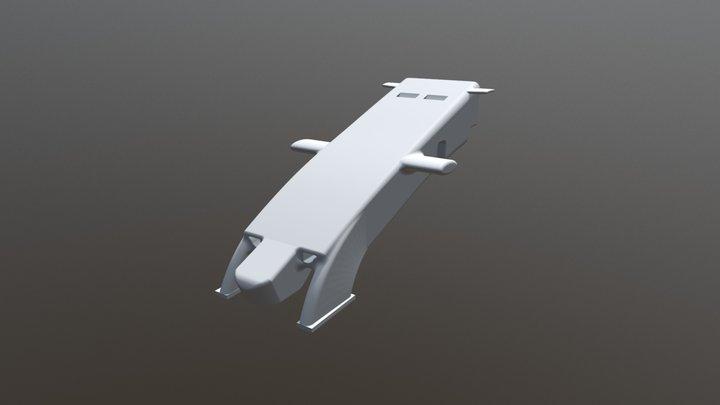 F1 2018 front nose 3D Model