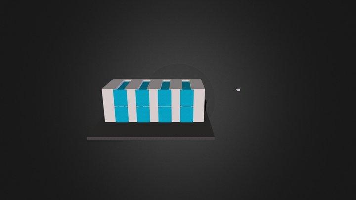 Booth Design v3 3D Model