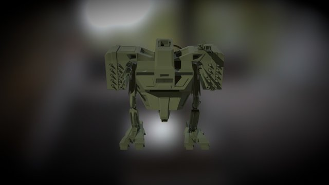 Robot WIP 3D Model