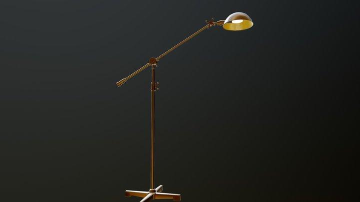 a Floor Lamp 3D Model