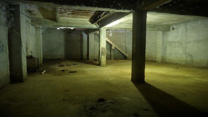 Scary Basement Interior photoscan 3D Model