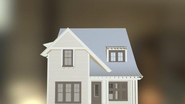 Georgia Oak 3D Model