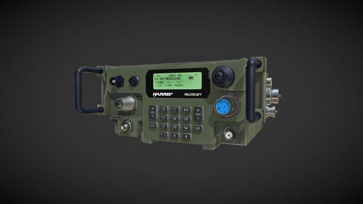 AN/PRC-117G Military Radio 3D Model