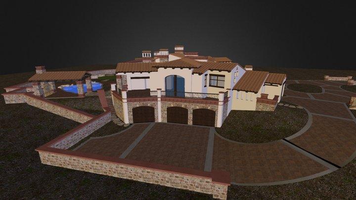 Oberkfell Residence  3D Model