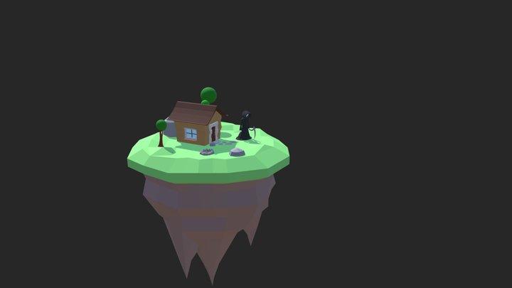 Deaths Island 3D Model