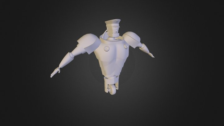 The Guardian 3D Model