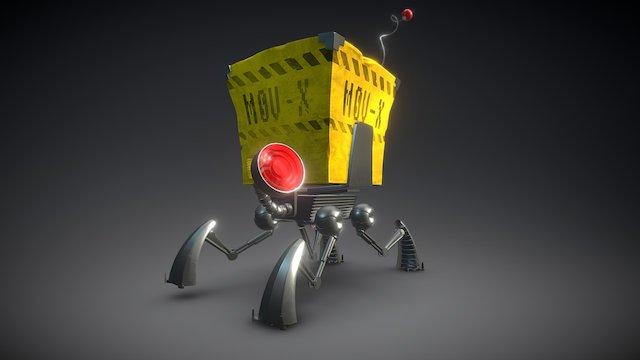 Mov-X 3D Model