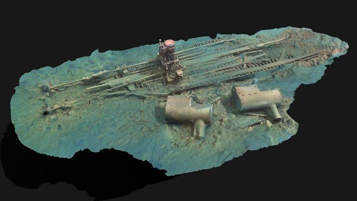 Shipwreck Strathmore 3D Model
