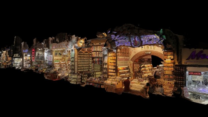 Mısır çarşısı / Egypt Bazaar - Istanbul 3D Model