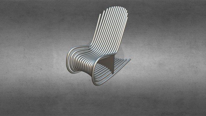 Кресло 3D Model
