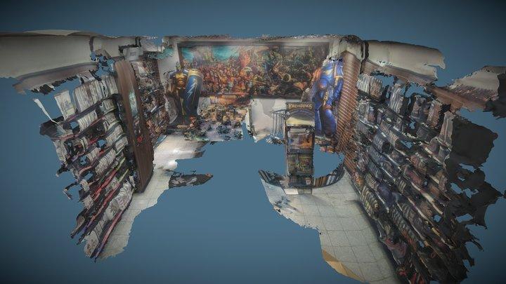 Warhammer Shop Bonn 3D Model