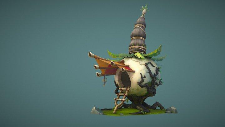 Onion Hut (model) 3D Model