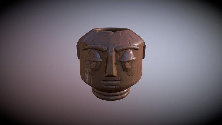 Easy Living Tiki Mug 3D Model