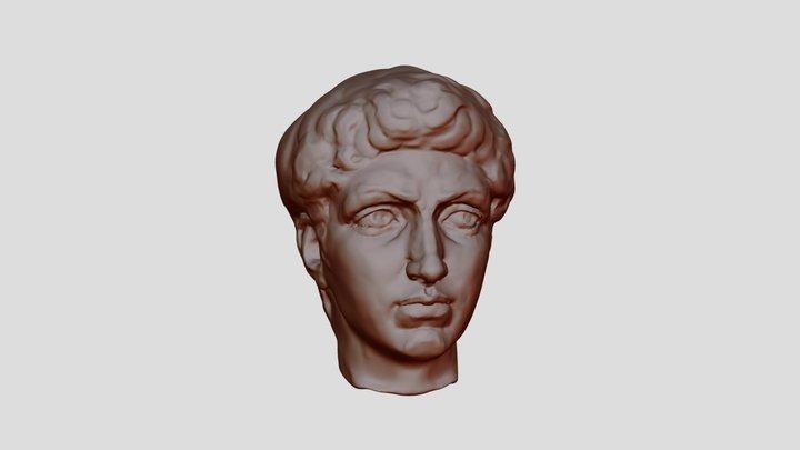After Michelangelo`s David 3D Model