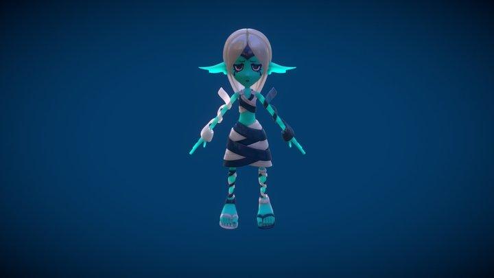 Ania The Sorrow 3D Model