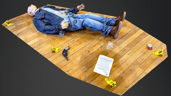 SCENE DE CRIME 3D Model