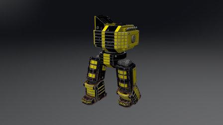 Mech Heavy 3D Model