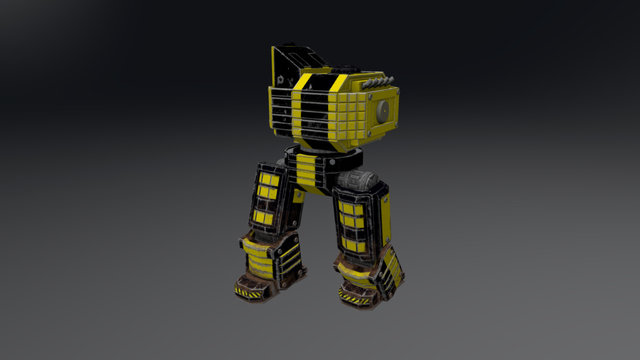 Mech Heavy 3D Model