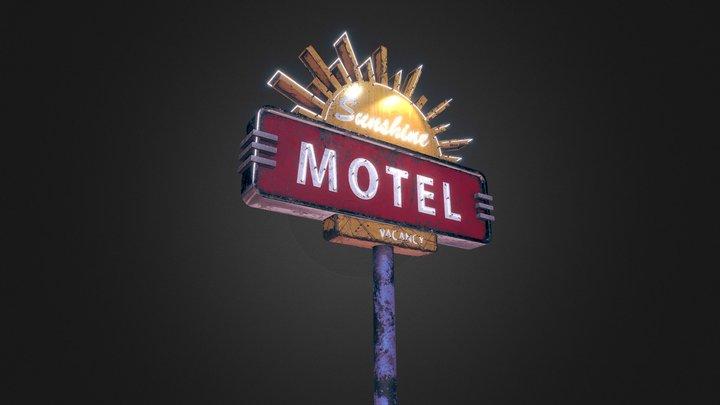 Sunshine Motel 3D Model