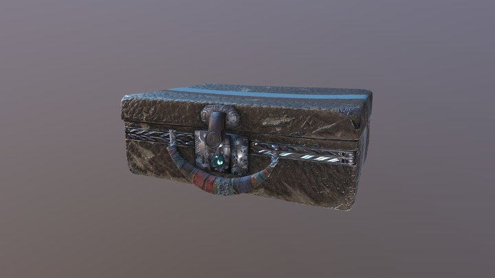 The Suitcase of Mystery 3D Model