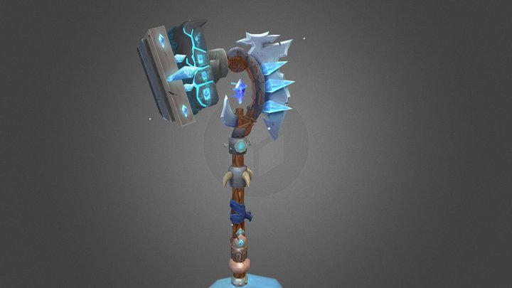 Stoffelen_Thijs_WorldOfWarcraftWeapon 3D Model