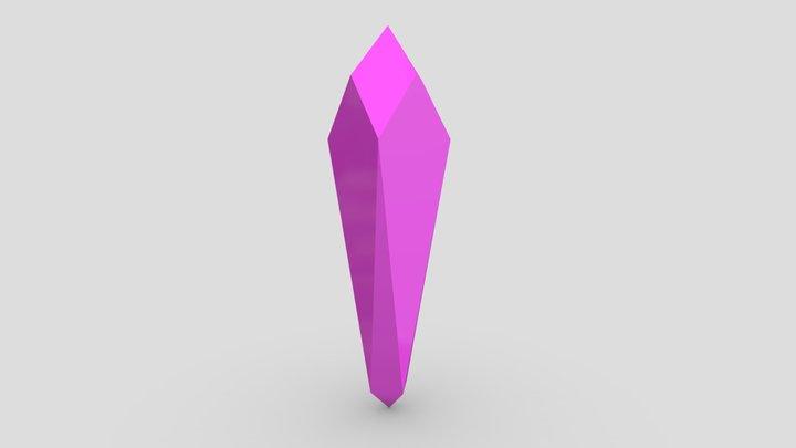 Crash Bandicoot Crystal 3D Model