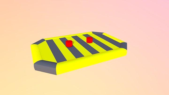 Gladiatoren Kussen 3D Model