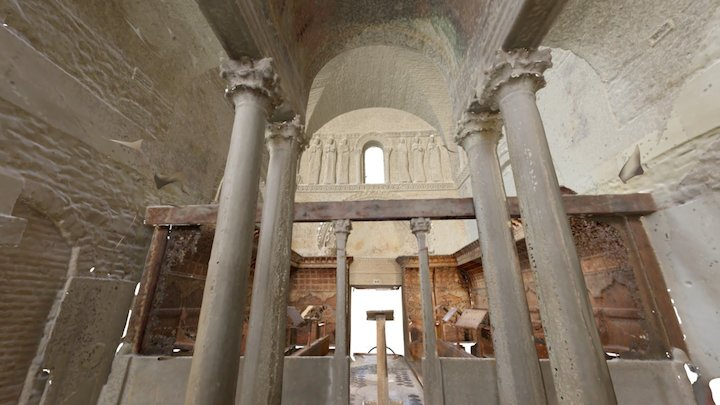 Lombard Temple, Cividale del Friuli, Italy 3D Model
