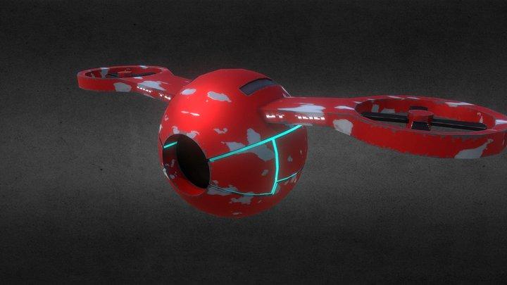 YT Drone 100 3D Model