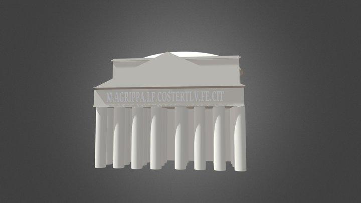 Pantheon 3D Model