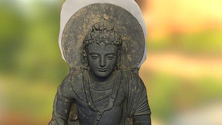 Seated Maitreya | 彌勒菩薩坐像 3D Model