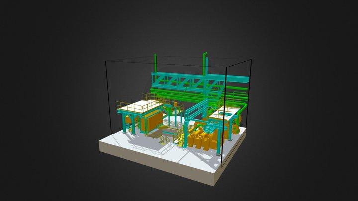 Modèle 3D industrie 3D Model