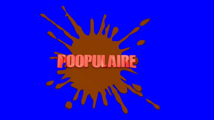Poopulaire 3D Model