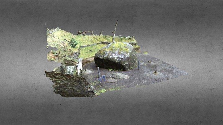 Mochizuri Ishi/ 文知摺石 3D Model