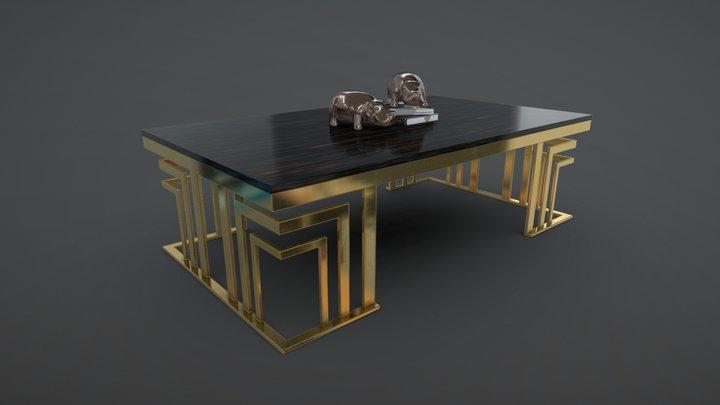 Vasco-B Coffee Table 3D Model