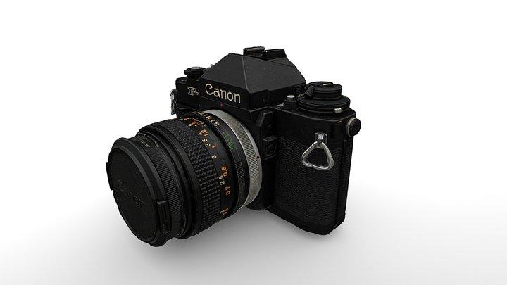 Canon F-1 (Photogrammetry) 3D Model