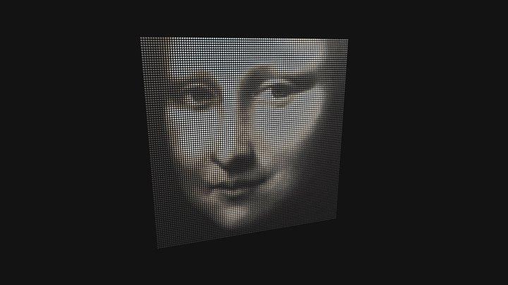 Ombrae Mona Lisa 3D Model