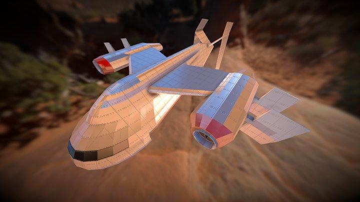 Dune 2000 CarryALL 3D Model