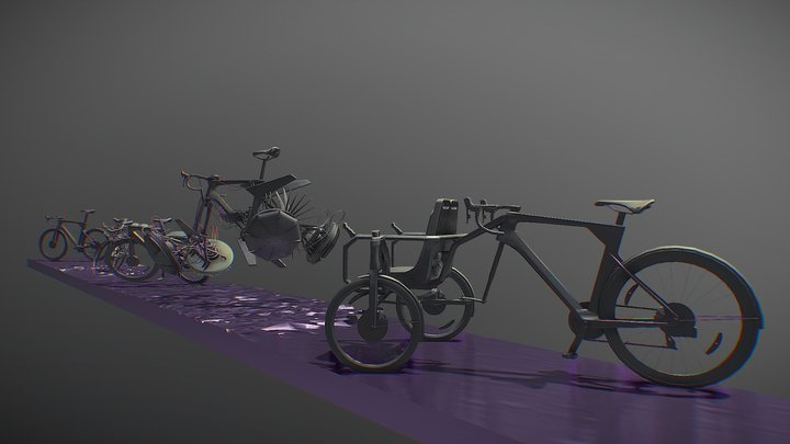 Secondary Forms l Вторичные формы 3D Model