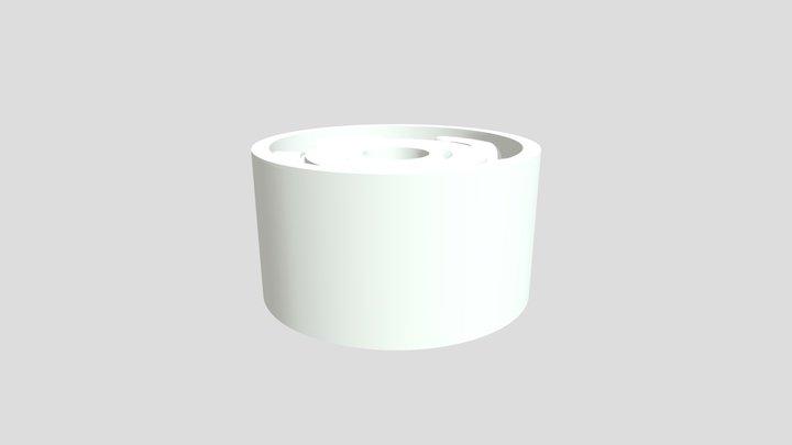 Orbital rim style 3D Model