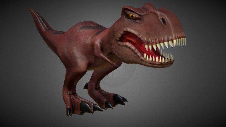 T- Rex 3D Model