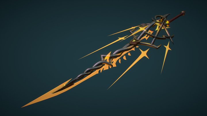 Light Blade (Realistic) 3D Model
